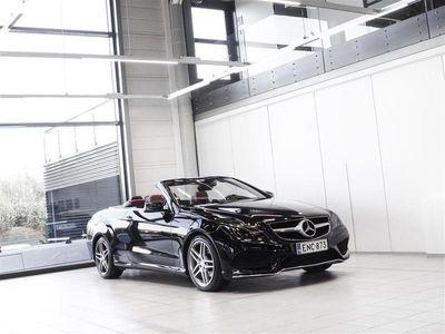 käytetty Mercedes E250 Cabriolet AMG Aut + Nahat + Navi + LED-valot + Tutkat