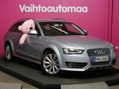 käytetty Audi A4 Allroad Business 2,0 TDI 140 kW quattro S tronic *Webasto* *Xenon* *Koukku* *Sportti penkit* *Käsiraha 0e*