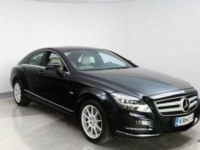 käytetty Mercedes CLS350 CDI BE 4Matic Automaatti + Nahkapenkit + Webasto + Navigointi + Suomiauto++