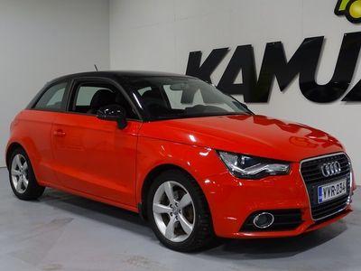 käytetty Audi A1 Compact Coupé Ambition 1,4 TFSI 119g S tronic Start-Stop ** 1 om. Suomi-auto / Vakkari / Xenon + LED