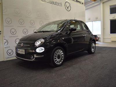 käytetty Fiat 500 1,0 70hv Hybrid MT Lounge - Uusi hybrid nopeaan toimitukseen, korkotarjous 0,9%+kulut, jopa ilman kä