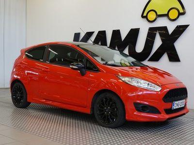 käytetty Ford Fiesta 1,0 EcoBoost 140hv Red Edition / Scorpion putkisto! / 1-Omistaja / 2 x Hienot vanteet / Aut. ilmasto