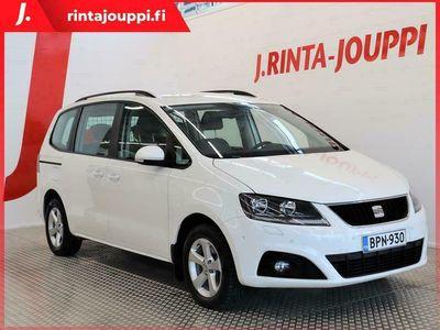 käytetty Seat Alhambra 2,0 TDI 140 4WD Style 5H. 1-OMISTEINEN! NELIVETO!