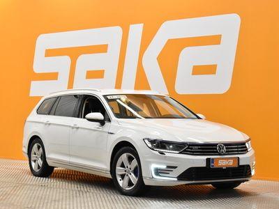 käytetty VW Passat Variant GTE Plug-In Hybrid 160 kW ** Adapt. cruise / Nahka-alcantara / LED / P. kamera / Vetokoukku **