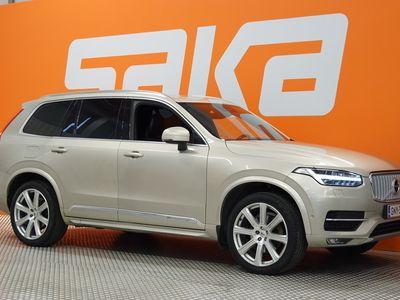 käytetty Volvo XC90 D5 AWD Inscription aut ** ACC / Navi / P-kamera / Webasto / Full-Led Aktiivivalot / Sporttipenkit muistilla /...