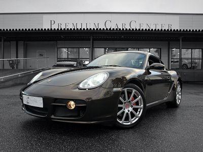 käytetty Porsche Cayman S 3.4, Manuaali, PCM, Cocoa-nahat, Navi, Supersiisti isomoottorinen klassikko
