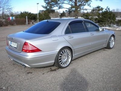 käytetty Mercedes S500 Lang Carlsson