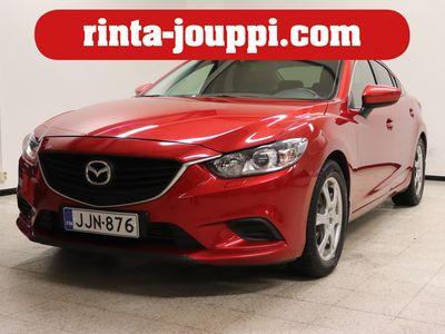 käytetty Mazda 6 Sedan 2,2 (150) SKYACTIV-D Active 6MT 4ov SF4 - Webasto, vetokoukku, Suomi-auto!