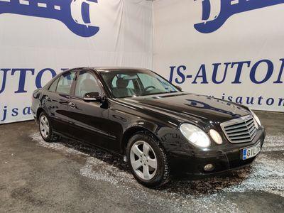 käytetty Mercedes E200 CDI Automatic * Erittäin hienokuntoinen ja huollettu Mese * Rahoitus jopa ilman käsirahaa *