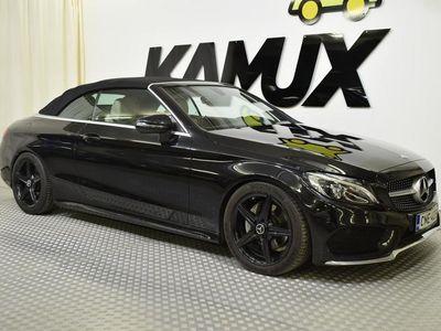 käytetty Mercedes C220 C AVOd AMG HUIPPUVARUSTEILLA NAHKA. NAVI. YM YM