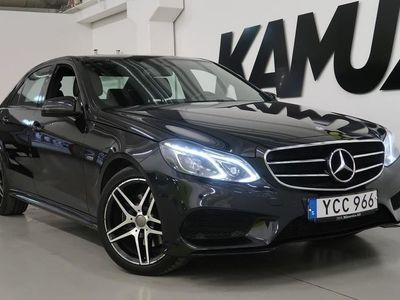 käytetty Mercedes E220 AMG | 4Matic | Kamera | Drag | D-värme |
