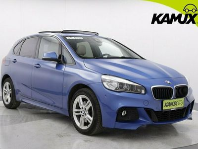 käytetty BMW 220 Active Tourer F45 220d A xDrive Edition M Sport / ALV-vähennyskelpoinen / Neliveto / M-Sport / Sähköpenkit / Panorama-kattoikkuna /