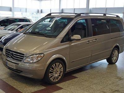 käytetty Mercedes Viano CDI 3,0 V6 keskipitkä A2 Aut ** 7-paikkainen / Webasto / Navi / Tutkat / Bluetooth / DVD / Vetokoukk