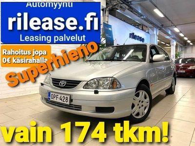 käytetty Toyota Avensis 1,6 VVT-i Linea Terra 4d, Supersiisti, Vetokoukku Vielä oikea ! Vähän ajettu.