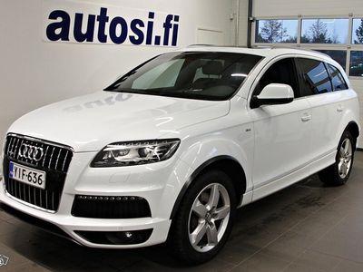 käytetty Audi Q7 S line Edition 3,0 V6 TDI DPF 180 kW quattro tiptronic-autom. Start-Stop 7-ist. ***Korko Tarjous 1.4