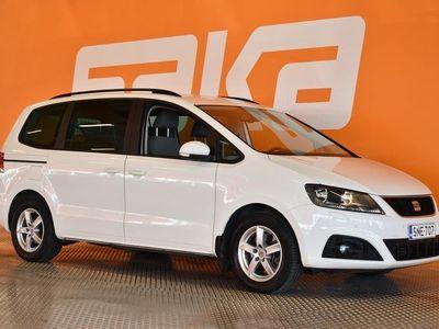 käytetty Seat Alhambra 2,0 TDI 170 Style DSG ** Suomi-auto / Jakohihna vaihdettu / Tutkat / Ilmastointi / Liukovet / Siisti
