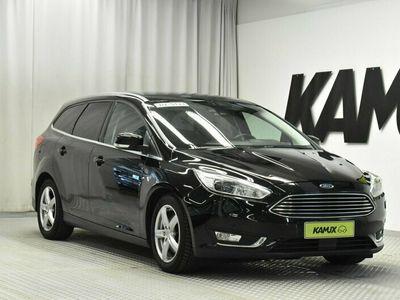 käytetty Ford Focus 2.0 TDCi 150 hv PowerShift A6 Turnier Titanium Wagon // Bi-Xenon / Adapt.cruise + kaistavahti / Peruutuskamera / Lämmitettävä ratti //