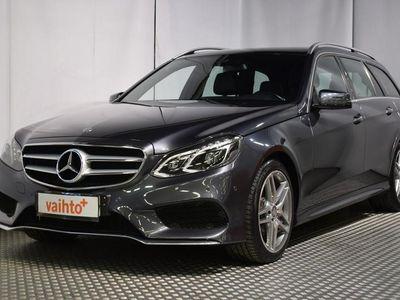 käytetty Mercedes E300 BlueTec Hybrid * AMG-Styling * HUIPPUHIENO SUOMIAUTO *