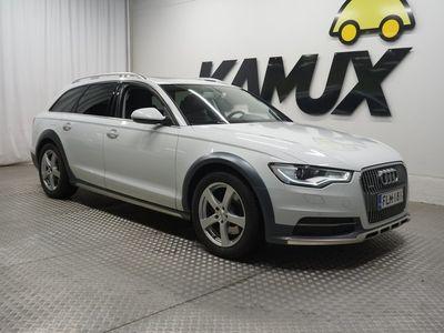 käytetty Audi A6 Allroad Quattro Business 3,0 V6 TDI 150 kW S tronic / Ilma-alusta / Sport istuimet / Suomi-auto / Avaimeton käynnist