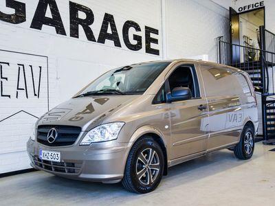 käytetty Mercedes Vito 116CDI -3,05/32K normaali A1 A / Jatko-ohjaamo / Kamera / hyvä historia / / Bi-Xenon / Koukku / Web