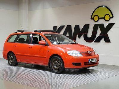 käytetty Toyota Corolla 1,4 VVT-i Wagon **LOHKOLÄMMITIN, ILMASTOINTI, VETOKOUKKU**