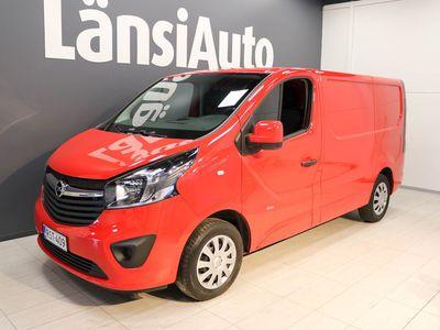 käytetty Opel Vivaro Van Edition L1H1 1,6 CDTI Bi Turbo ecoFLEX 92kW MT6 ** SIS ALV:N - Vetokoukku - LED päiväajovalot ** **** Min 1500e takuuhyvitys TAI LänsiAuto Safe 0e ****