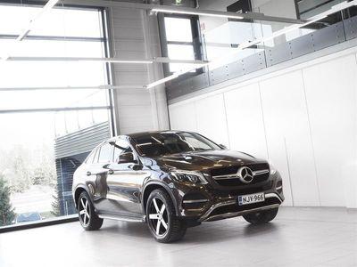 käytetty Mercedes GLE350 Coupé 4Matic Aut + Nahat + Webasto + LED-valot + Tutkat + Vetokoukku