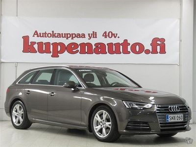 käytetty Audi A4 Avant First Edition Business Sport 2,0TDI 140kW Quattro S tronic * Webasto, Tutkat, Koukku *