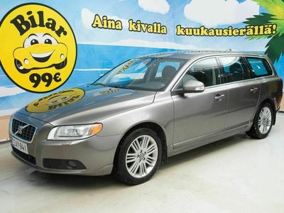 käytetty Volvo V70 D5 AWD Summum aut ** SUOMI-AUTO * REAR ENTERTAINMENT ** - *HULLUT AUTOMARKKINAT!!!*