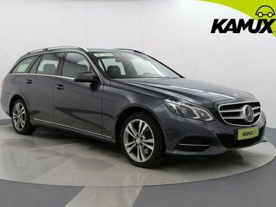 käytetty Mercedes E350 Bluetec 4Matic //Led-ILS // Navi // Nahkasisusta // Hierovat etuistuimet //