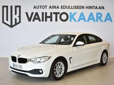 käytetty BMW 418 Gran Coupé F36 418d A Business # HIENO!! Sporttipenkit, Xenon, Sähköt.takaluukku #