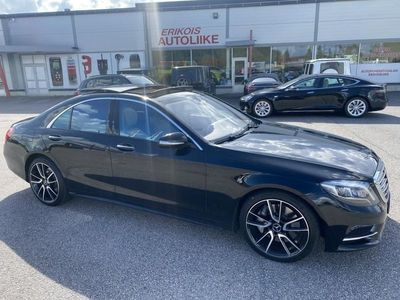 käytetty Mercedes S350 Bluetec AMG STYLING PACKAGE DISTRONIC PLUS AUXILIARY HEATER PANORAMA 3X TV YM YM