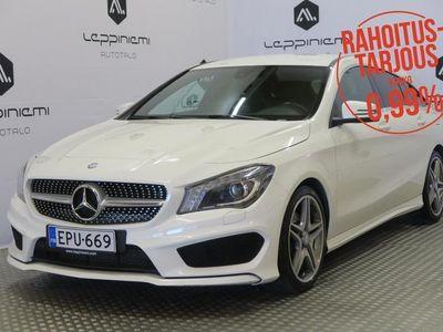 käytetty Mercedes 200 CLA AMG-Stylingd Shooting Brake / Kamera / Webasto / Rahoitus / Vaihto