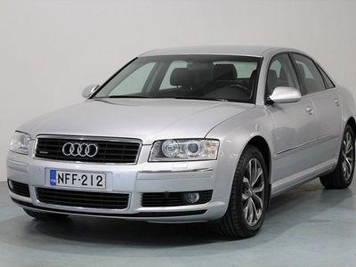käytetty Audi A8 4.2 V8 335HV Quattro 4d Tiptronic SUPERHIENO SUOMI-AUTO