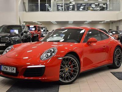 käytetty Porsche 911 Carrera 4S 991.2 PDK, Sport-pakoputkisto, PDLS+, BOSE®, Sport Chrono, Navi, Kamera, Nahkapaketti