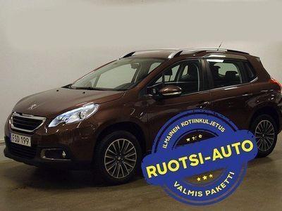 käytetty Peugeot 2008 2008 *UPEA*1.2 VTi Manual, 60 kW, 2015 Rahoituksella, Kotiin toimitettuna!