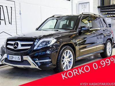 käytetty Mercedes GLK220 CDI BE 4Matic Aut FACELIFT AMG, ILS-XENON+LED, TUTKAT, BT+BT AUDIO, NAVI, LOHKO+SP, NAHKA/ALCANT