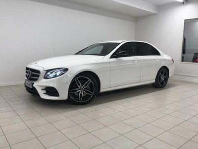 käytetty Mercedes E220 4Matic A Premium Business AMG, Night-paketti, Vetokoukku, Navi, Peruutuskamera, LED-ajovalot