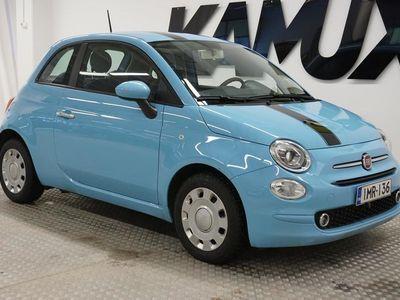 """käytetty Fiat 500 1,2 69hv Pop Start&Stop """"1-Omisteinen Suomi-auto""""Ilmastointi""""Lohko+sisähaaroitus"""""""
