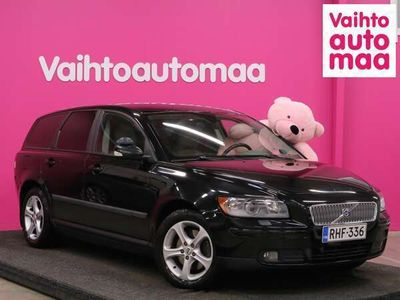 käytetty Volvo V50 2,4 Kinetic 103kW *Todella siisti* *Vakionopeudensäädin* *Aut ilmastointi* *2x Alut* *Käsiraha 0e*