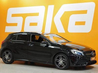käytetty Mercedes A180 A Business AMG-STYLING ### NORMAL FRIDAY -hinta! ### ** Nahka-alcantra / Led / Siistikuntoinen/