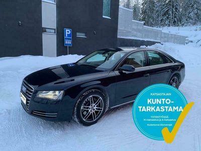 käytetty Audi A8 *HIENO*3.0 V6 TDI quattro Start-Stop 184kW Aut. Tarkastettuna, Rahoituksella, Kotiin toimitettuna!