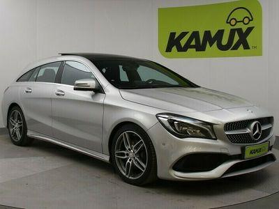 käytetty Mercedes 200 CLA-sarjaShooting Brake AMG-Line // Navigointi / Vetokoukku / Nahka-Alcantara //