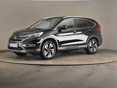 käytetty Honda CR-V 1,6 Diesel Premium Plus A -Lasikatto, Nahkaverhoilu, Vetokoukku-