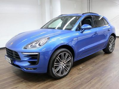 """käytetty Porsche Macan S Diesel ** Panoraama, 21"""" Turbo Design vanteet, Bi-Xenon** **** Korko 0,99% + min. 1500 EUR takuuhy"""