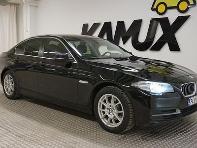 käytetty BMW 520 520 F10 Sedan d TwinPower Turbo A xDrive Business Automatic **SUOMI-AUTO / NELIVETO / MERKKIHUOLLETTU