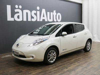 käytetty Nissan Leaf Tekna Solar Leather - Varusteltu yksilö! **** LänsiAuto Safe -sopimus hintaan 590€. ****