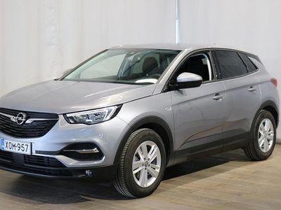 käytetty Opel Grandland X Comfort 130 AT6 **** Korko 0 % (+kulut) + 3kk eräpäivän siirto + min. 1500 EUR takuuhyvitys ****