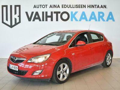 käytetty Opel Astra 5-ov Sport 1,4 Turbo Ecotec 103 # HYVIN HUOLLETTU JA VÄHÄN AJETTU YKSILÖ # Ilmastointi, Isofix, Lohko+Sisäpistoke #