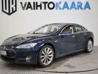 käytetty Tesla Model S 85 # Nahkaverhoilu, navi, panoraama #